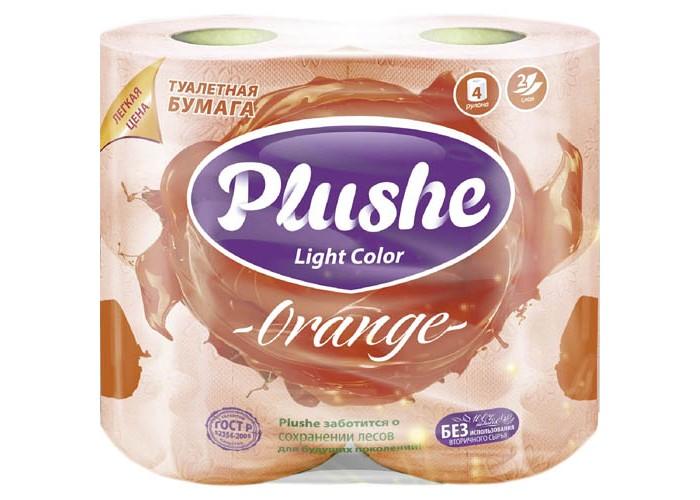 Хозяйственные товары Plushe Туалетная Бумага Light Color Orange туалетная бумага с анекдотами