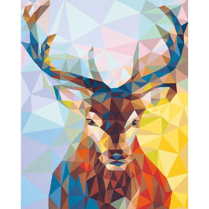 Творчество и хобби , Картины по номерам Schipper Картина по номерам Олень 40х50 см арт: 261735 -  Картины по номерам