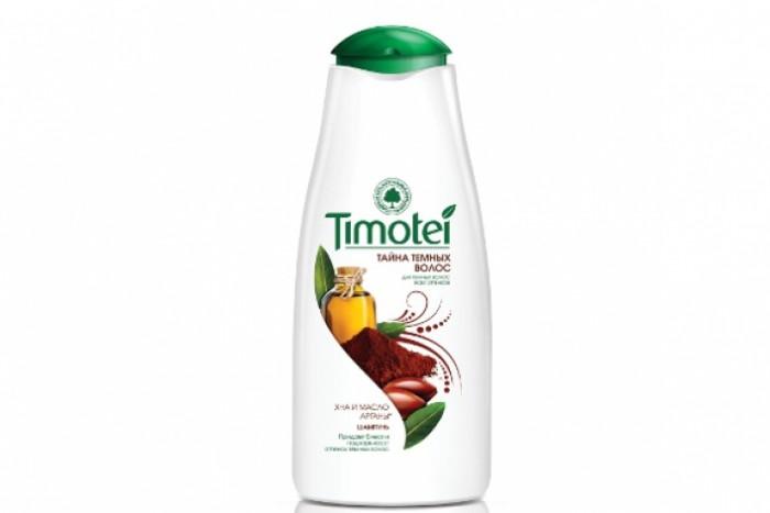 Косметика для мамы Timotei Шампунь женский Тайна темных волос 400 мл шампунь belluga premium amino премиум шампунь для волос 400 мл