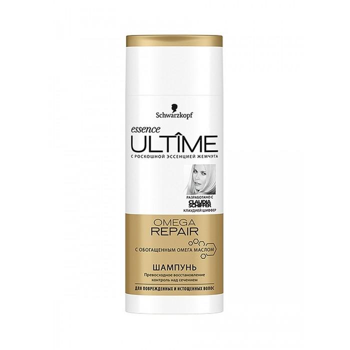 Косметика для мамы Schwarzkopf Essence Ultime Шампунь для поврежденных и истощенных волос Omega repair 250 мл