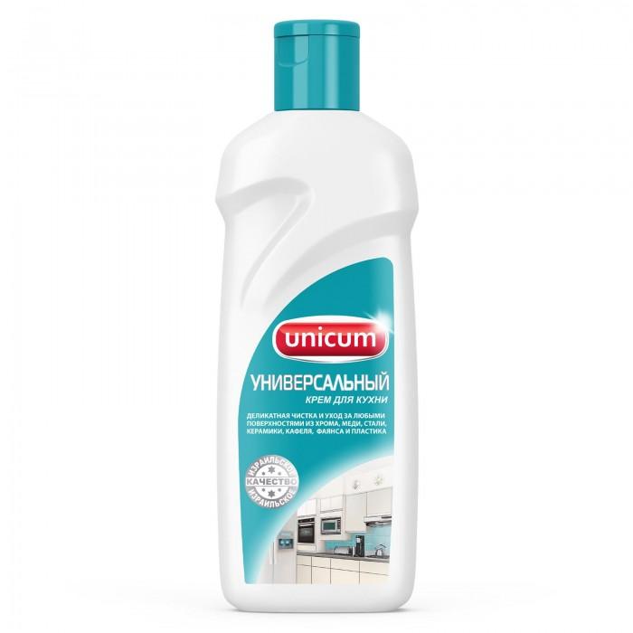 Бытовая химия Unicum Крем для чистки поверхностей Универсальный 380 мл средство для защиты и чистки стеклокерамики feed back 500 мл