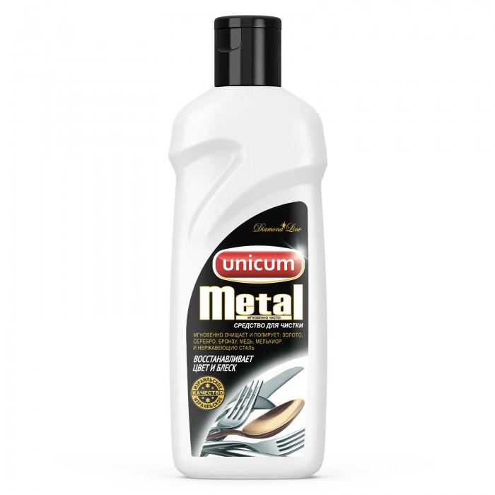 Бытовая химия Unicum Средство для чистки изделий из драгоценных и цветных металлов 380 мл unicum 380