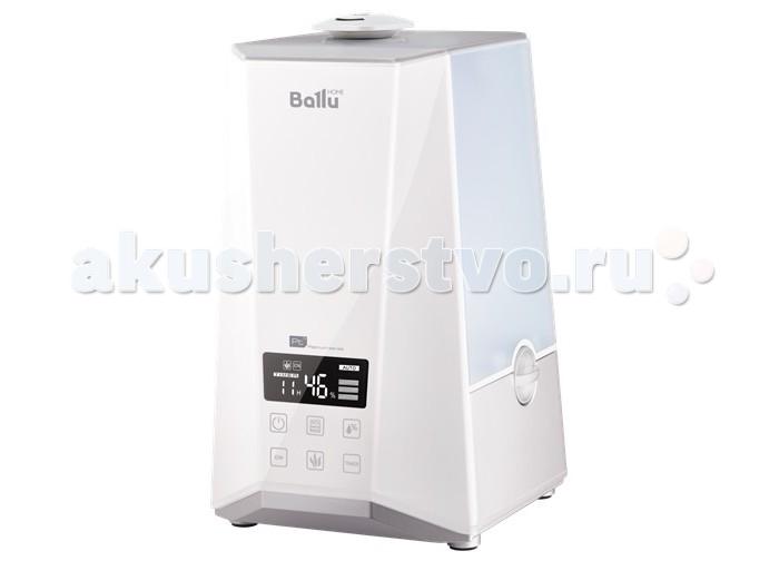 Ballu Увлажнитель воздуха ультразвуковой UHB-990Увлажнитель воздуха ультразвуковой UHB-990Ballu Увлажнитель воздуха ультразвуковой UHB-990 разработан совместно с европейскими дизайнерами.  Особенности: Холодный и теплый пар Таймер до 12 часов на отключение Индикация влажности и температуры Ионизатор воздуха (отключаемый) Выносной гигрометр для более точных данных уровня влажности в помещении Капсула для ароматических масел 2 варианта управления – сенсорная панель управления на приборе и пульт ДУ Контроль уровня воды и замок фиксации резервуара для воды Фильтр-картридж для очистки воды от солей жесткости (в комплекте) Очистка воздуха с помощью фильтра предварительной очистки Безостановочная работа в режиме увлажнения более 15 часов Съемный резервуар для воды с ручкой удобен для заполнения водой Минимальное потребление электроэнергии<br>
