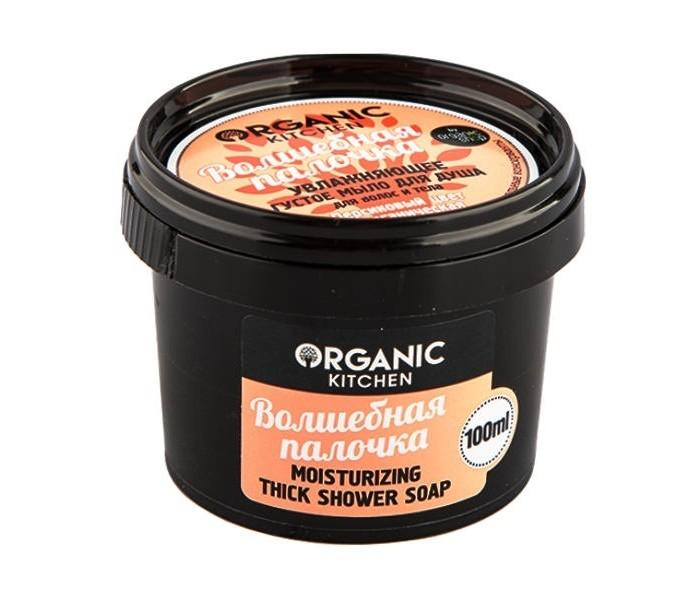 Косметика для мамы Organic shop Organic Kitchen Мыло для душа густое для волос и тела Волшебная палочка 100 мл мыло organic shop organic shop or014lwune47