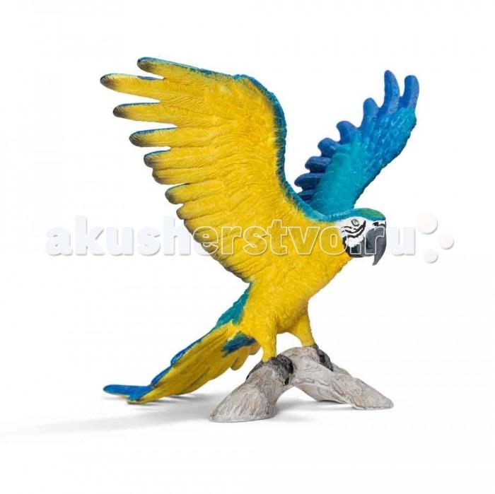 цена  Игровые фигурки Schleich Игровая фигурка Сине-желтый Ара  онлайн в 2017 году