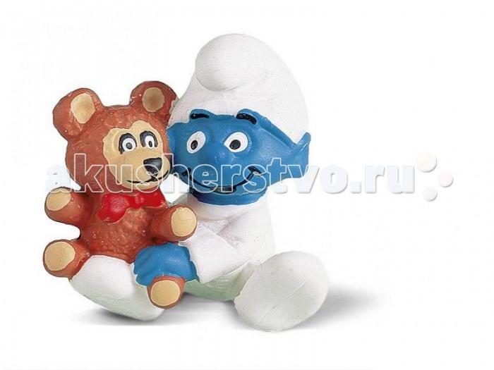 Игровые фигурки Schleich Игровая фигурка Гномик с медвежонком