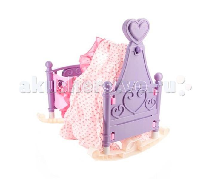 Кроватки для кукол Xiong Cheng Колыбель с балдахином kidkraft колыбель для куклы