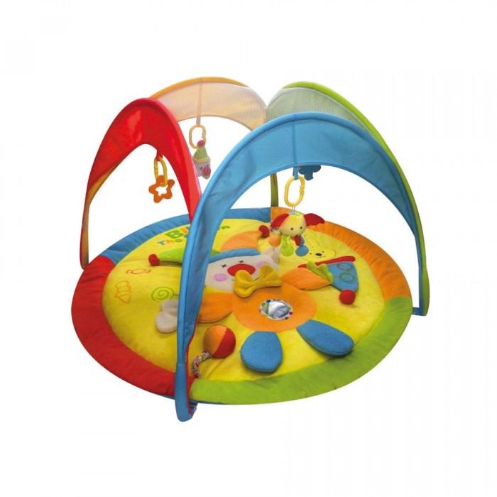 Развивающий коврик Calida В циркеВ циркеCalida Развивающий коврик Calida в цирке порадует вашего малыша яркими цветами, приятными материалами и множеством интересных деталей. Этот веселый коврик помогает развить у карапуза зрительное восприятие, тактильные ощущения и даже различные физические навыки: пытаясь достать игрушки, малыш развивает все группы мышц, учится вставать и сидеть.   Особенности: Изготовлен из мягкой велюровой ткани Множество интересных элементов Яркие цвета и красочные картинки Съемные игрушки-погремушки Все тканевые детали можно стирать Компактен для хранения и транспортировки  Возраст: 0+ Размер: 93 х 93 х 50 см<br>
