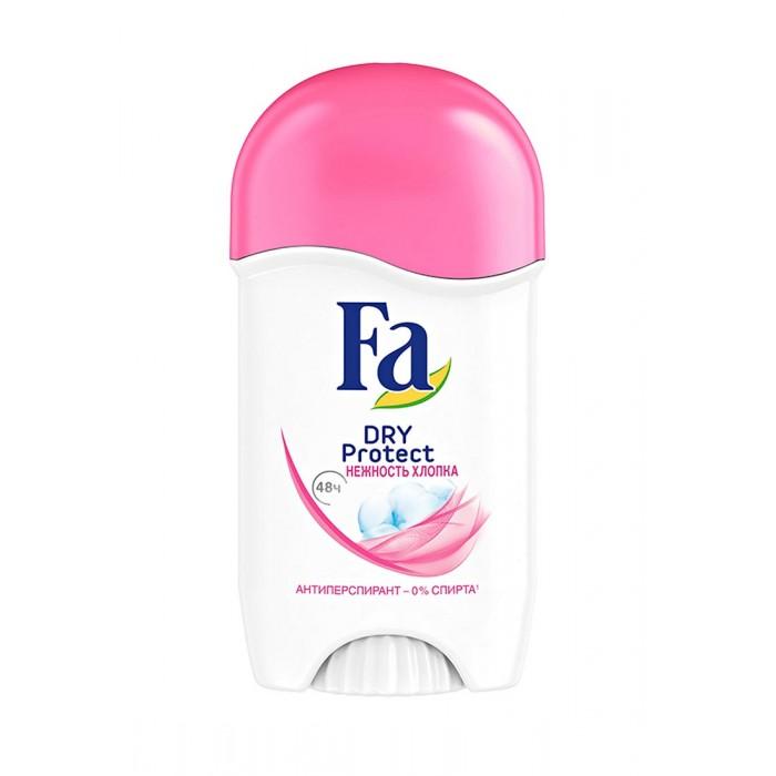 Косметика для мамы Fa Дезодорант-антиперспирант роликовый Dry Protect Нежность хлопка 50 мл дезодорант ролл 48 часов молодежный lavilin 65 мл hlavin