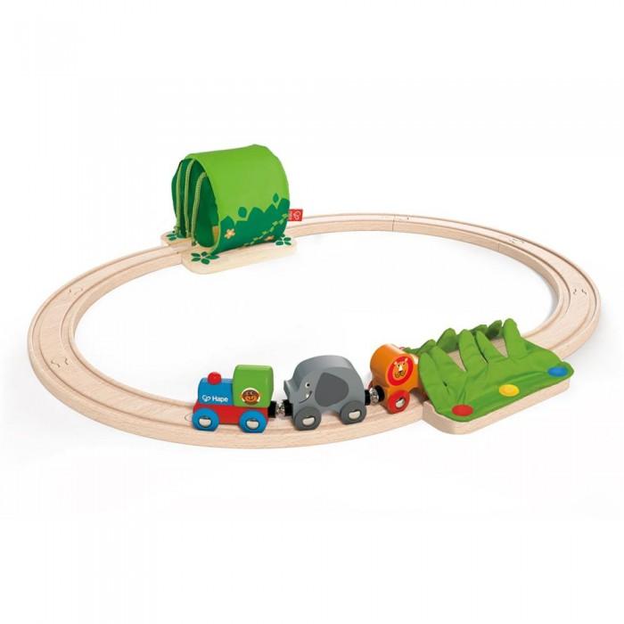 Железные дороги Hape Развивающий набор Железная дорога E3800 железные дороги keenway набор железная дорога