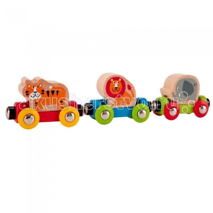 Железные дороги Hape Вагоны Веселые животные