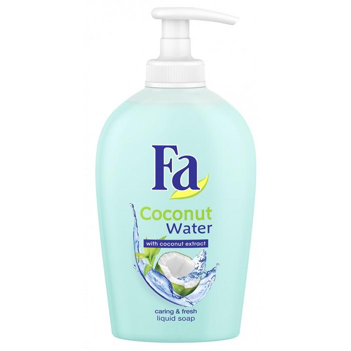 купить Косметика для мамы Fa Жидкое мыло Кокосовая вода 250 мл по цене 120 рублей