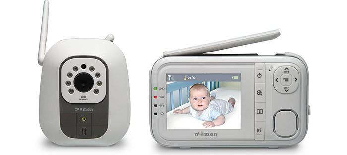 Безопасность ребенка , Видеоняни Maman Видеоняня BM3200 арт: 263694 -  Видеоняни