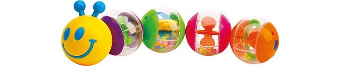 Развивающие игрушки Maman Гусеница 9070 развивающая игрушка в коляску гусеница