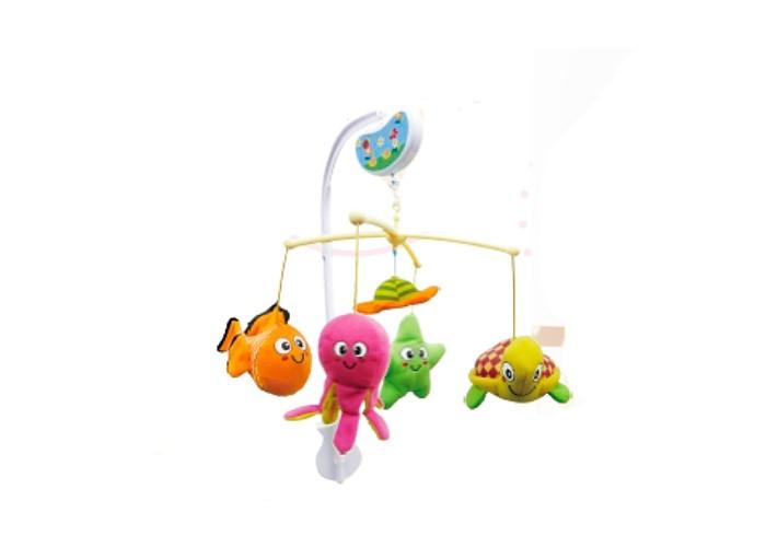 Мобили Biba Toys Музыкальный Зверята