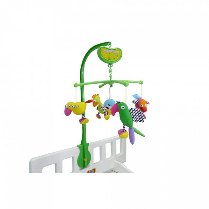 Мобили Biba Toys Музыкальный Попугайчики