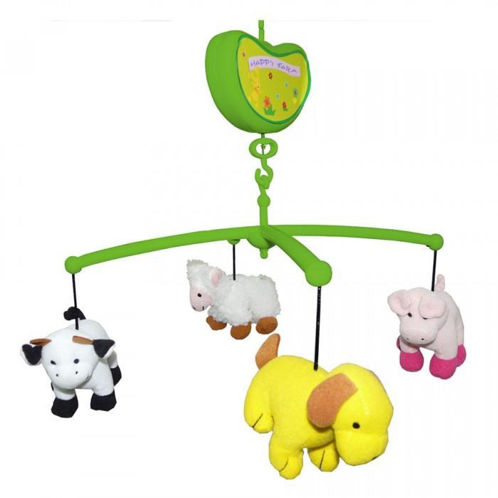 Мобили Biba Toys Музыкальный Счастливая ферма мобили biba toys музыкальный друзья бюсси