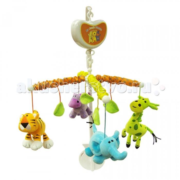 Мобили Biba Toys Музыкальный Счастливые друзья мобили biba toys музыкальный друзья бюсси