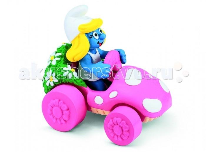 Игровые фигурки Schleich Игровая фигурка Гномик в розовой машинке гномик в машинке