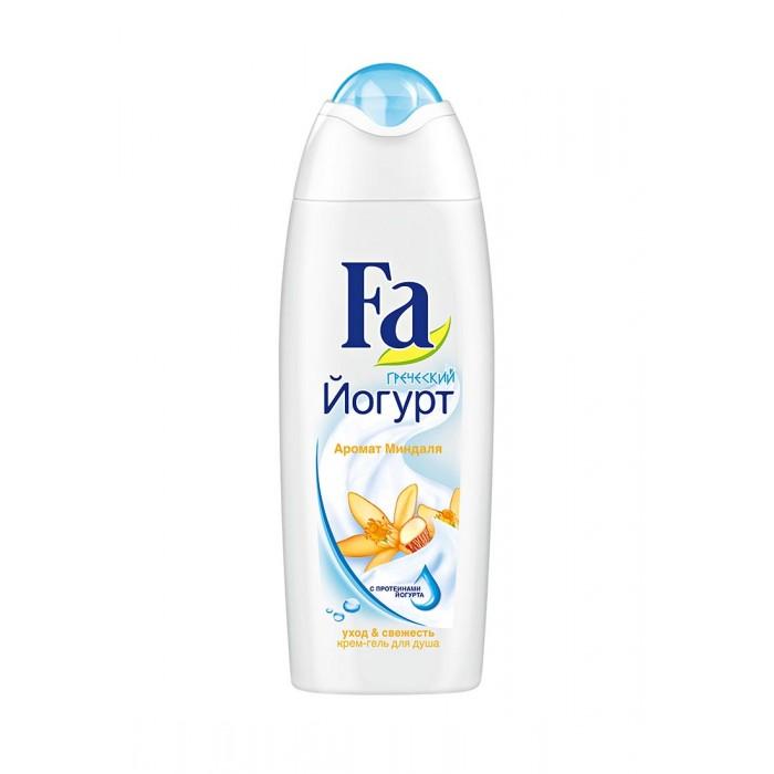 Косметика для мамы Fa Крем-гель для душа Греческий йогурт Миндаль 250 мл гель д душа fa греческий йогурт миндаль 750мл с дозатором