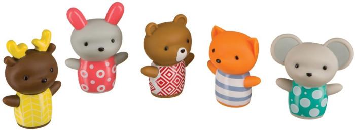 Игрушки для ванны Happy Baby Набор ПВХ-игрушек для ванны Little Friends happy baby набор little fisher
