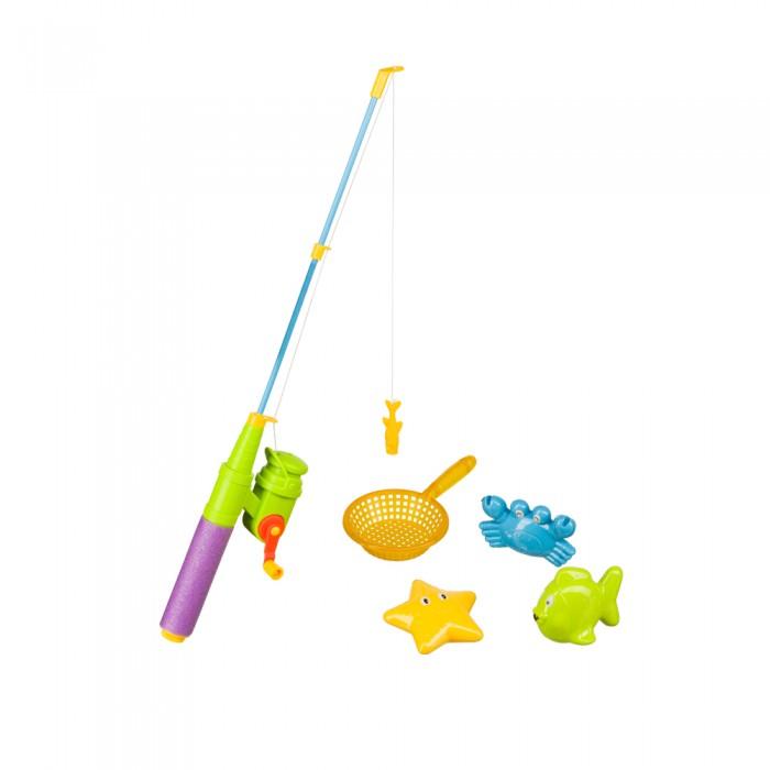 Игрушки для ванны Happy Baby Набор игрушек для ванной Little Fishman игрушка для животных каскад удочка с микки маусом 47 см