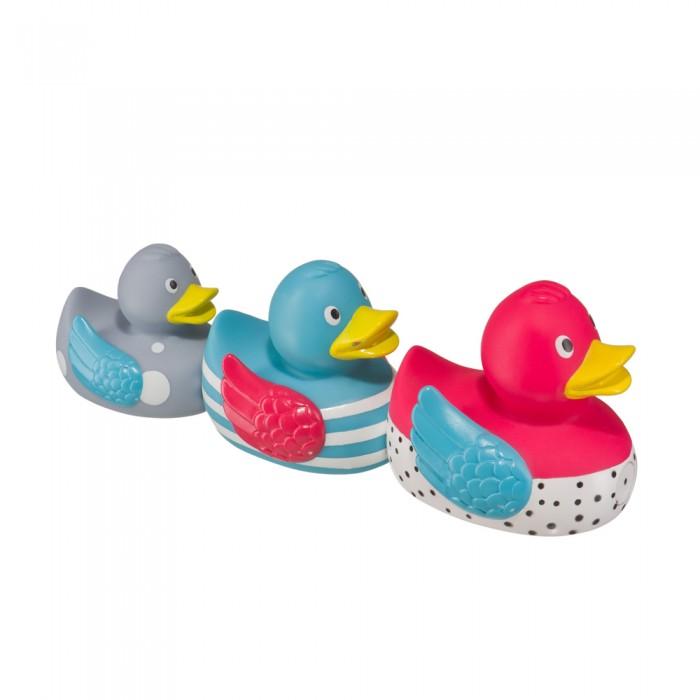 Игрушки для ванны Happy Baby Набор ПВХ-игрушек для ванной Funny Ducks funny ducks игрушка для ванной уточка цвет желтый