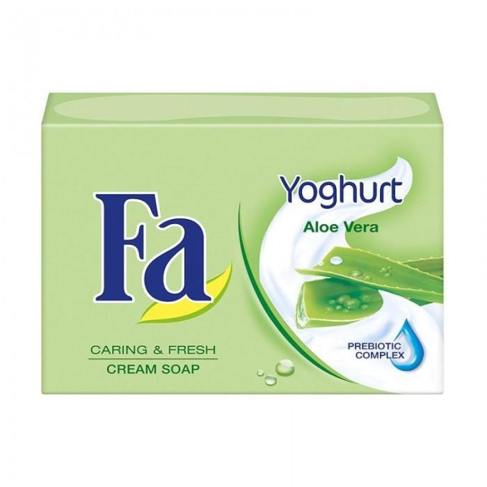 Косметика для мамы Fa Мыло Кусковое Yoghurt Алоэ Вера 90 г гели fa гель для душа yoghurt алоэ вера 250 мл