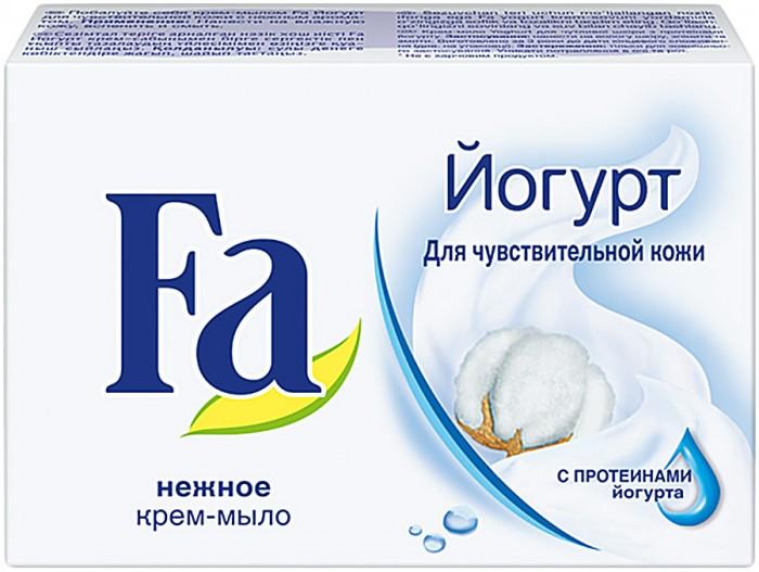 купить Косметика для мамы Fa Мыло Кусковое Yoghurt для чувствительной кожи 90 г по цене 60 рублей