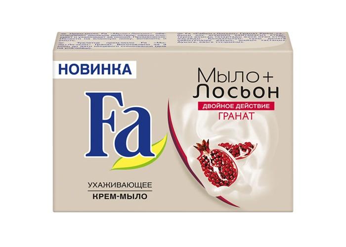 Косметика для мамы Fa Мыло Кусковое Мыло+лосьон Гранат 90 г мыло фантазер граната