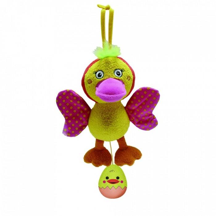 Подвесные игрушки Biba Toys Утка игрушки для ванны tolo toys набор ведерок квадратные