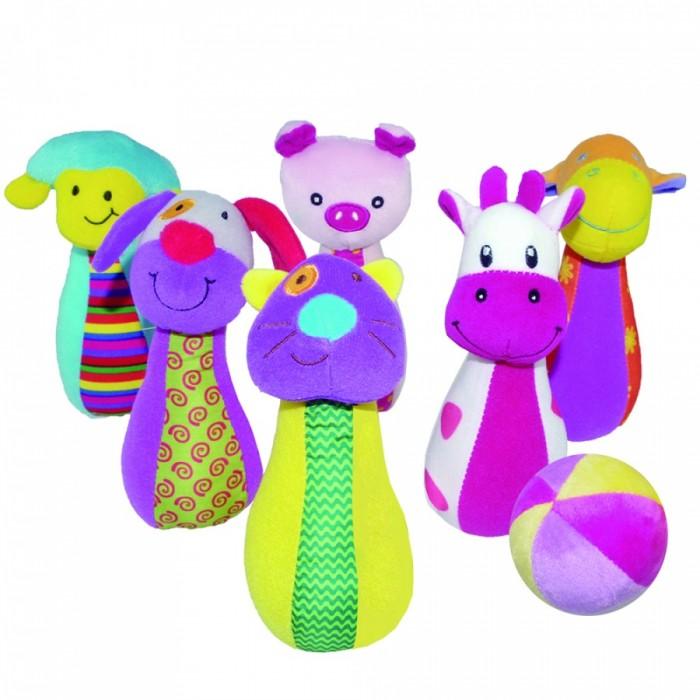 Развивающие игрушки Biba Toys Набор боулинга Счастливая ферма