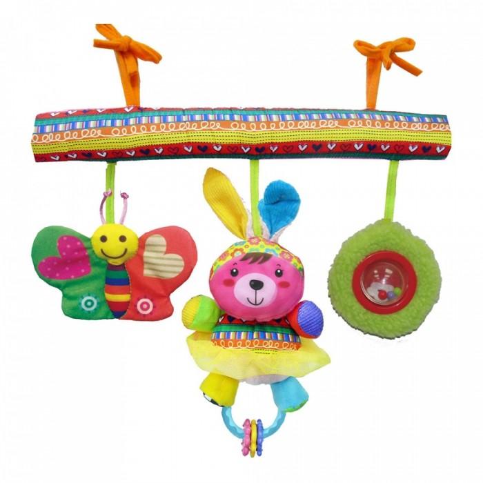 Подвесные игрушки Biba Toys Счастливые животные HA907 игрушки для ванны tolo toys набор ведерок квадратные