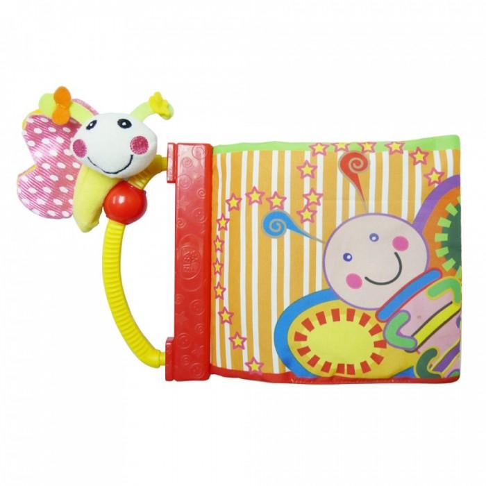Книжки-игрушки Biba Toys Книжка-игрушка Бабочка утенок машинки пазлы книжка игрушка