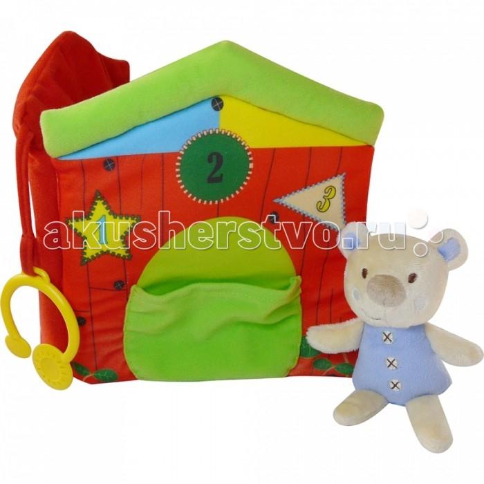 Biba Toys Книжка-игрушка Мишка