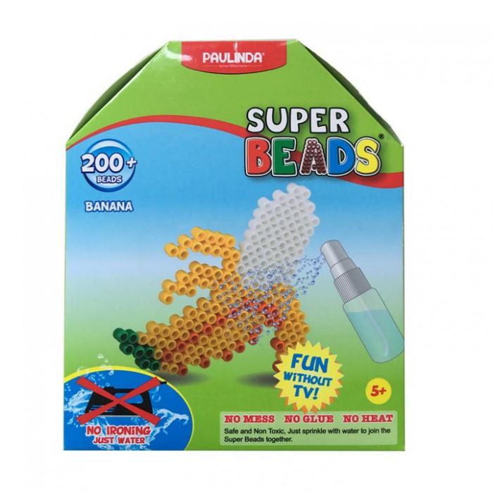 Мозаика Paulinda Мозаика Super Beads - Банан 200 элементов мозаика paulinda мозаика 2 в 1 super beads кораблик и слоник 230 элементов