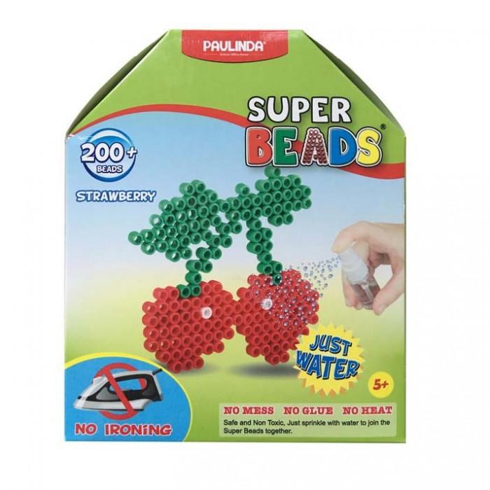 Мозаика Paulinda Мозаика Super Beads - Вишенки 200 элементов мозаика paulinda мозаика 2 в 1 super beads кораблик и слоник 230 элементов