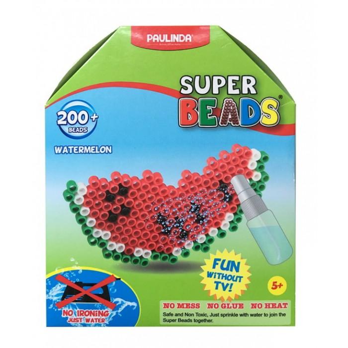 Мозаика Paulinda Мозаика Super Beads - Долька арбуза 200 элементов paulinda мозаика животные джунглей более 1200 деталей без использования утюга 150012