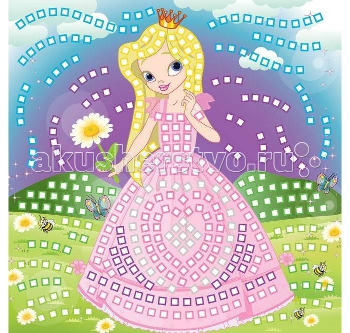 Мозаика Funnivation Самоклеящаяся мозаика Принцесса 400 элементов funnivation