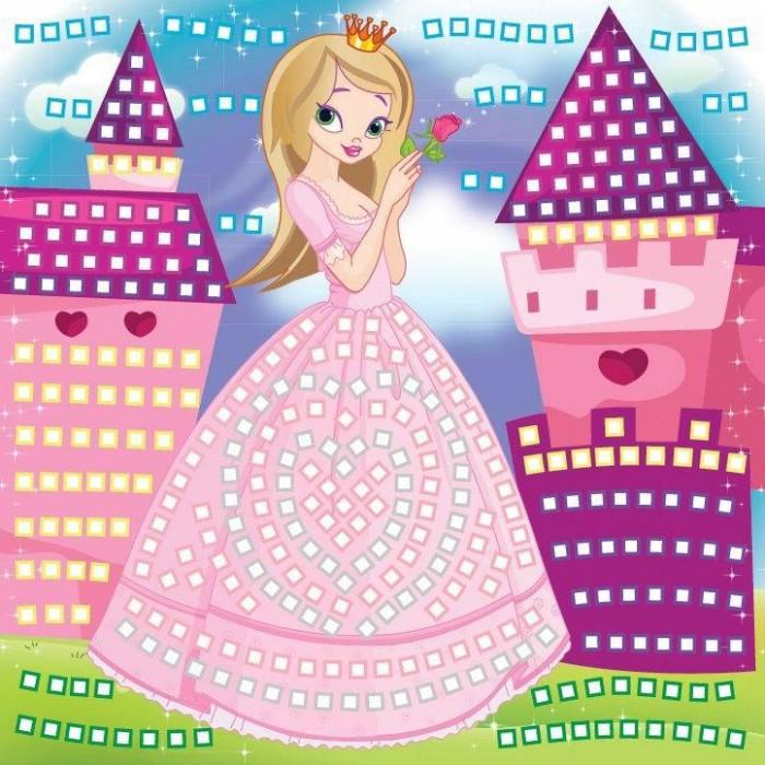 Мозаика Funnivation Самоклеящаяся мозаика по цветам Принцесса 400 элементов funnivation