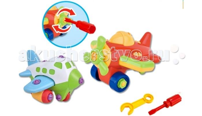 Вертолеты и самолеты S+S Toys Игрушка для малышей Bambini Конструктор Самолеты игрушка s s toys bambini 2 в 1 развивающий телефон и пианино сс76752