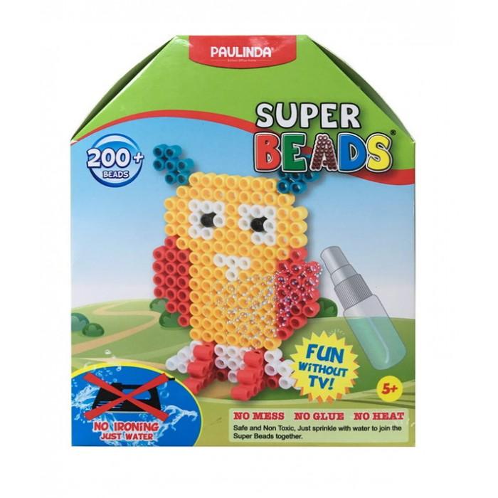 Мозаика Paulinda Мозаика Super Beads - Сова 200 элементов мозаика paulinda мозаика super beads вишенки 200 элементов