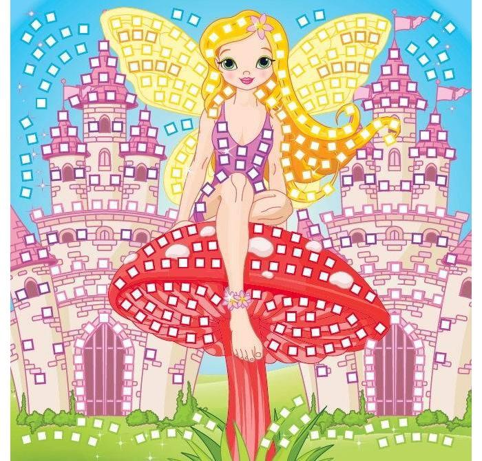 Мозаика Funnivation Самоклеящаяся мозаика Фея-королева 400 элементов мозаика amav diamant мозаика фея