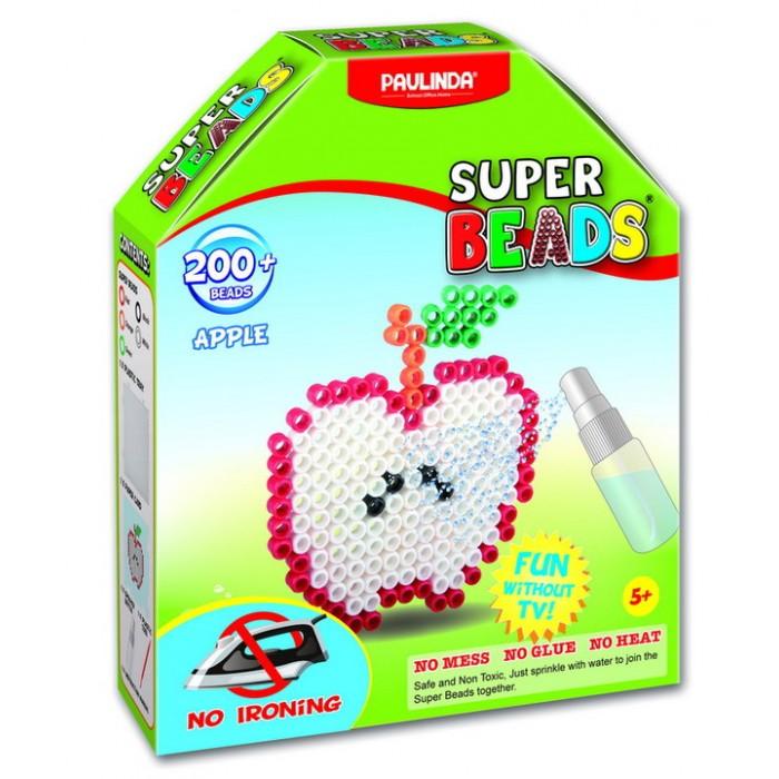 Мозаика Paulinda Мозаика Super Beads - Яблоко 200 элементов мозаика paulinda мозаика super beads сова 200 элементов