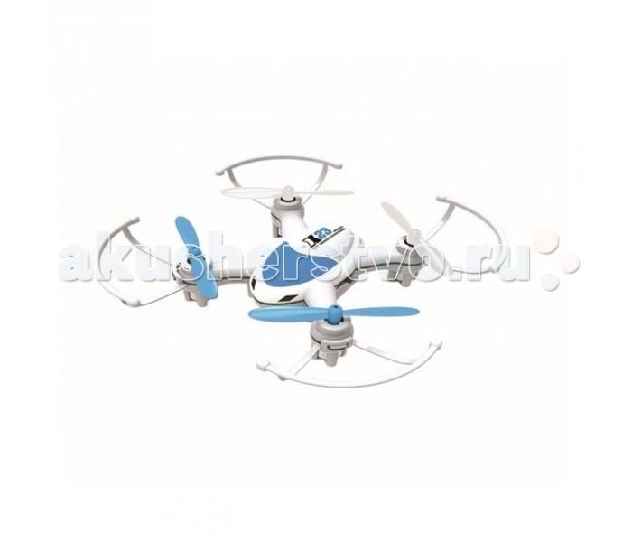 1 Toy Квадрокоптер 2,4 GHz 4 канала 8 x 8 смКвадрокоптер 2,4 GHz 4 канала 8 x 8 см1 Тoy GYRO-Air Квадрокоптер 2,4GHz 4 канала 8 x 8 см квадрокоптер размером 8 х 8 см управляется на частоте 2,4 GHz и обладая двумя скоростными режимами, отлично летает как дома, так и на улице. Из особенностей данной модели можно выделить функцию Автоматического возвращения квадрокоптера в сторону пилота, а также программируемый план полета.  В комплекте: квадрокоптер - работает от аккумулятора 3.7V входит в комплект пульт управления - работает от 4-х батареек АА не входят в комплект USB зарядка 2 запасные лопасти  Особенности: 4 канала функция автоматического возвращения программируемый маршрут полёта<br>