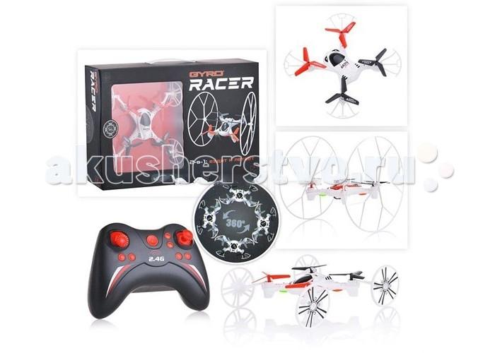 1 Toy Gyro-Racer Квадрокоптер 2 в 1 ездит и летает