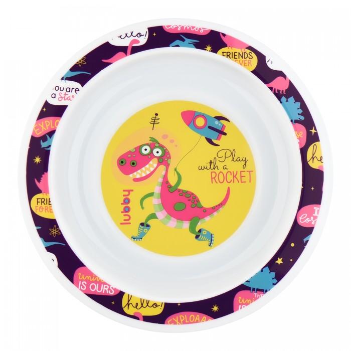 Посуда Lubby Тарелка Весёлые животные весёлые животные развивающее домино clever