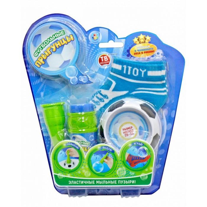 Мыльные пузыри 1 Toy Футбольные Прыгунцы эластичные мыльные пузыри мыльные пузыри формула 1 60 мл