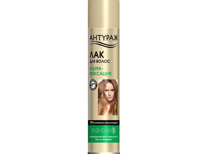 Косметика для мамы Антураж Лак для волос Ультрафиксация 250 смЗ ducray неоптид лосьон от выпадения волос для мужчин 100 мл