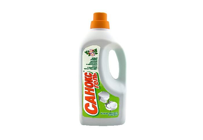 Бытовая химия Санокс Гель для чистки сантехнических изделий 1100 мл бытовая химия sarma гель антиржавчина для ванн и раковин 500 мл